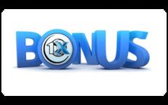 Бонус букмекерской конторы 1xBet