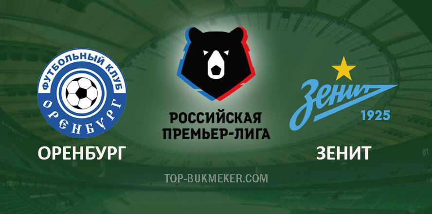 Прогноз на матч РПЛ Оренбург - Зенит