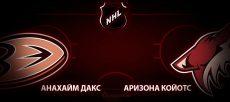 Анахайм Дакс – Аризона Койотс. Прогноз на матч 30 января