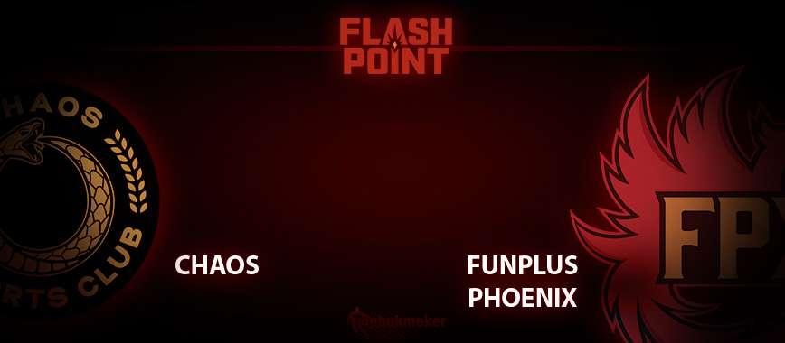 Chaos — FunPlus Phoenix. Прогноз на матч 2 апреля