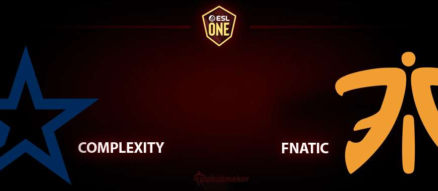Complexity - fnatic. Прогноз на матч 6 мая