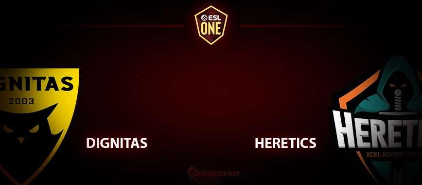 Dignitas — Heretics. Прогноз на матч 23 апреля