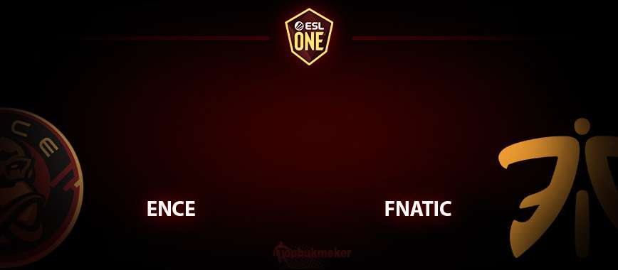 ENCE — fnatic. Прогноз на матч 22 апреля