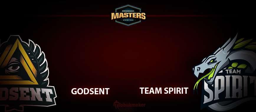 GODSENT – Spirit: прогноз на матч 27 мая