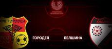 Городея - Белшина: прогноз на матч 17 июля