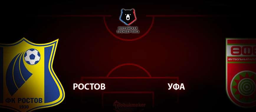 Ростов - Уфа: прогноз на матч 8 июля