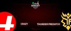 CR4ZY - Thunder Predator: прогноз на матч 6 июля