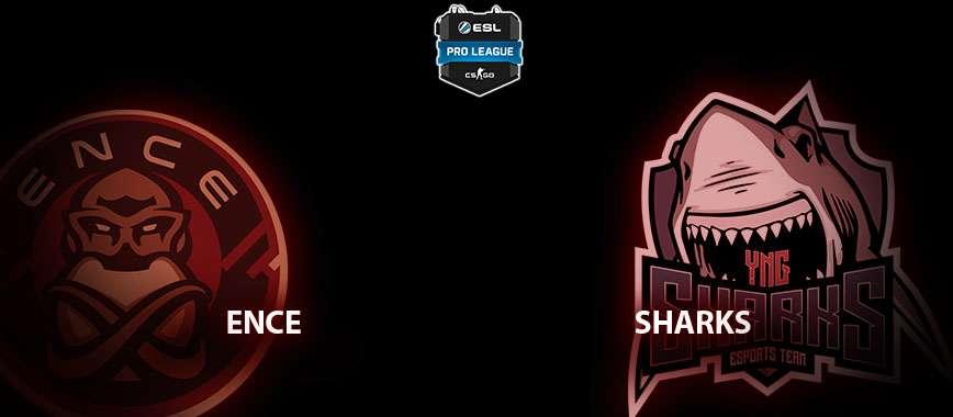 ENCE — Sharks. Прогноз на матч 16 марта