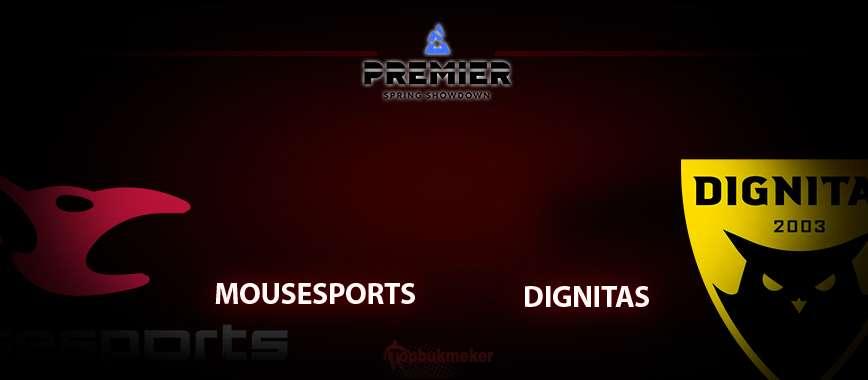 mousesports – Dignitas: прогноз на матч 01.05.2020